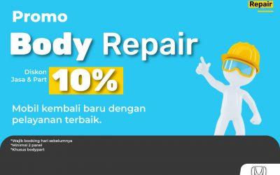 Promo Body Repair 10% All Type Mobil