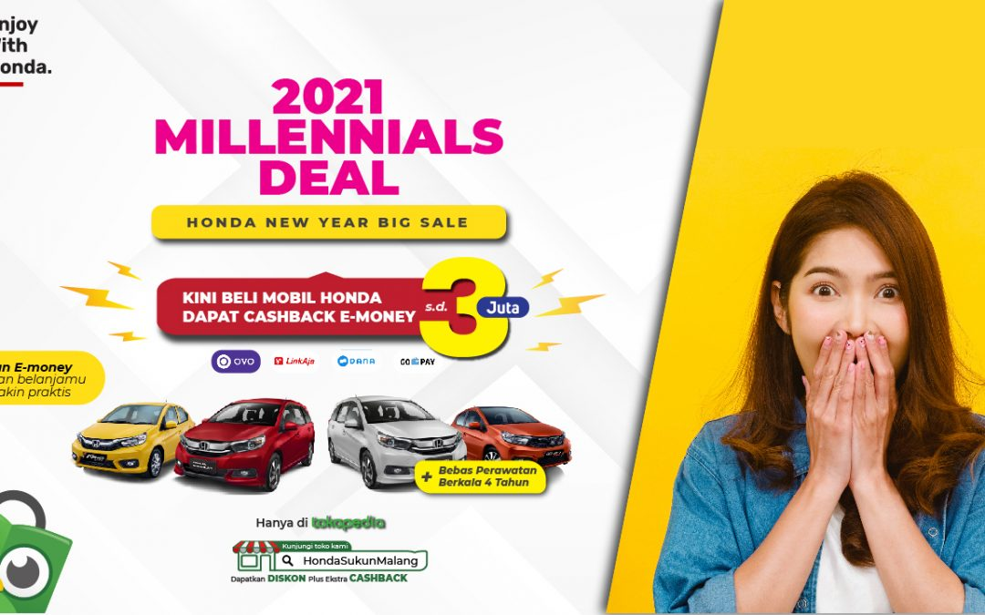MILLENNIALS DEAL: Promo khusus untuk kamu yang millennials banget!