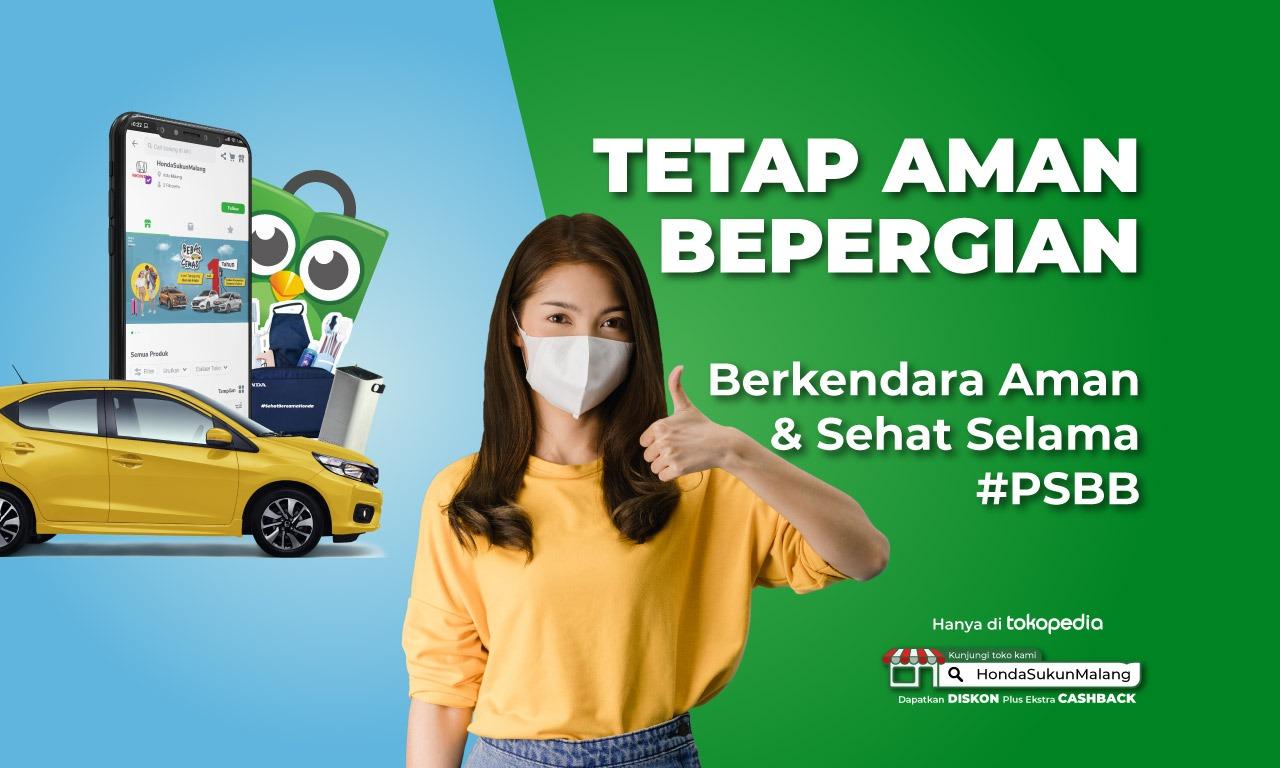 Belnaja Mobil Honda Tokopedia di Honda Sukun Malang
