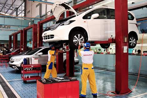 Service Mobil Honda di Malang