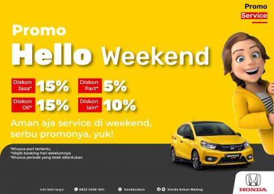 Service HELLO Weekend