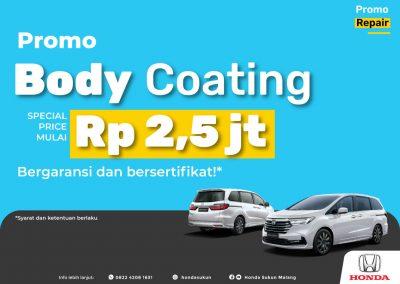 Promo Body Coating Nano Ceramic