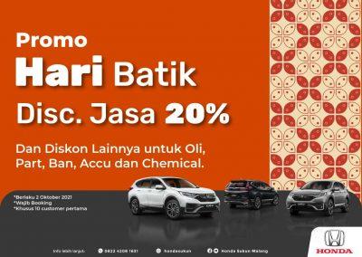 Promo Hari Batik