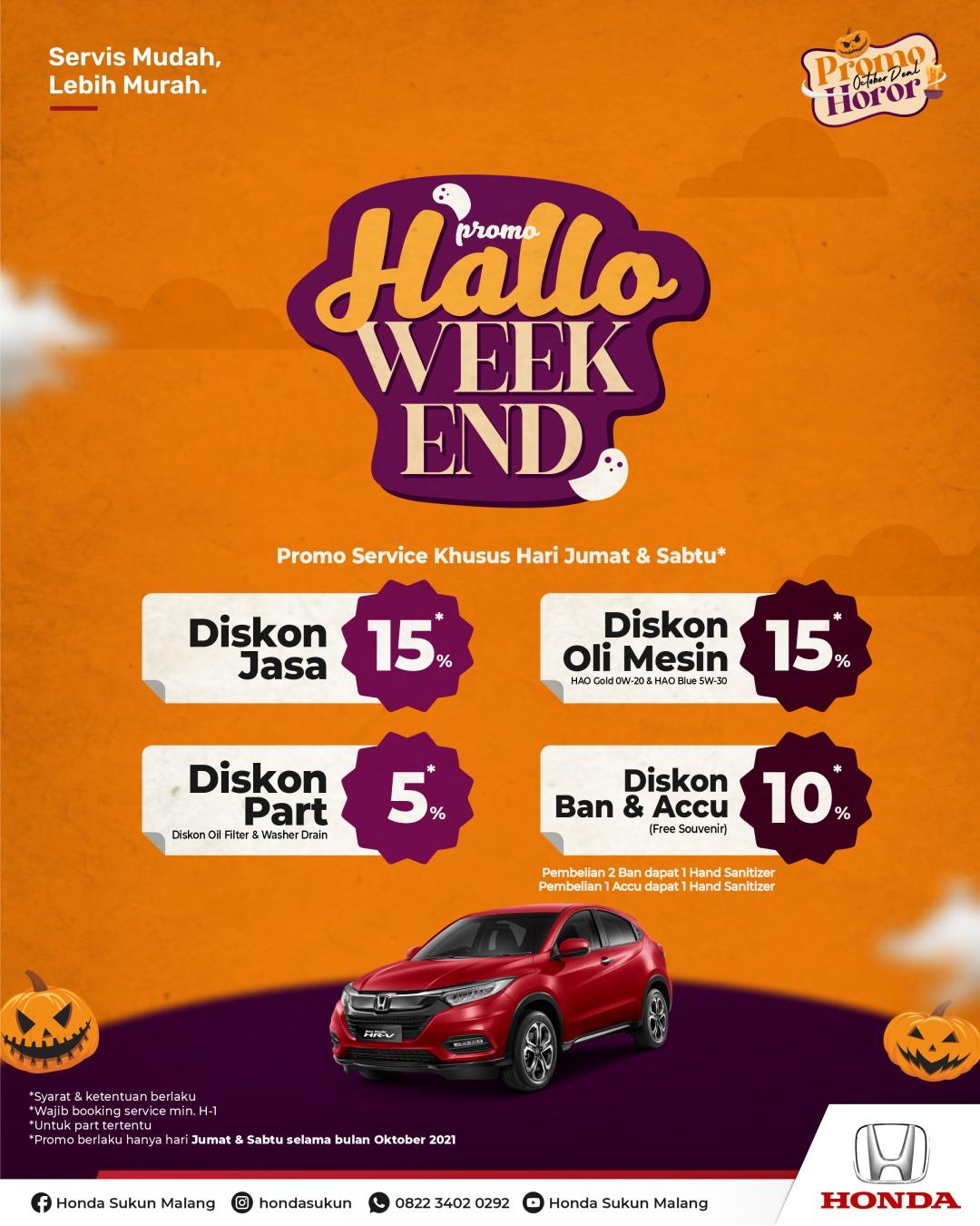 Promo Pay Day Honda Juli Honda Malang