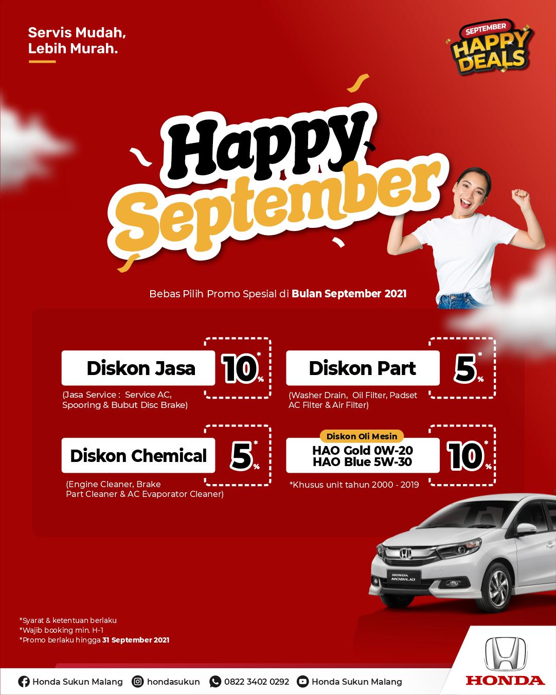 Promo Paket Service Honda Lovers